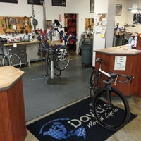 Photo taken at David's World Cycle by Paul B. on 5/13/2016