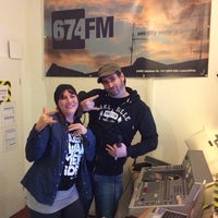 Photo taken at 674.fm by Voll K R. on 1/24/2014