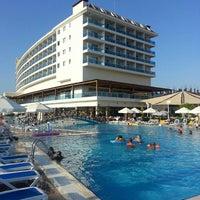 Photo taken at Kahya Resort Aqua&Spa by Hasan A. on 8/10/2013