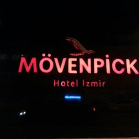 Photo taken at Mövenpick Hotel Izmir by Hasan A. on 11/5/2013