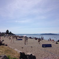 Photo taken at Alki Volleyball Association - Beach Volleyball Tournaments by Jeb S. on 6/6/2015
