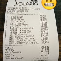 Photo taken at Solaria by Mus T. on 1/22/2017
