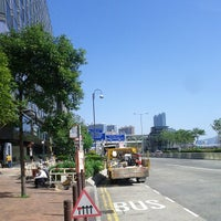 Photo taken at Wing On Plaza Bus Stop 永安廣場巴士站 by Alan M. on 11/25/2013