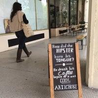 Photo taken at Artichoke Coffee Shop by Richard W. on 4/23/2017