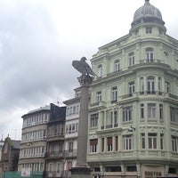 Foto tirada no(a) Praza de Santo Domingo por Natalia S. em 1/9/2014