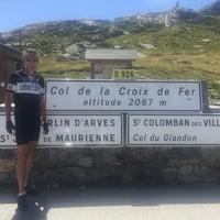 Photo taken at Col de la Croix De Fer by Anne H. on 8/8/2016