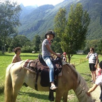 Photo taken at Camping Belledonne by Anne H. on 8/14/2013