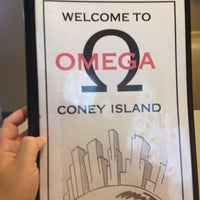 Photo taken at Omega Coney Island by Johnny G. on 7/23/2013