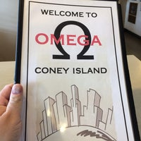 Photo taken at Omega Coney Island by Johnny G. on 2/10/2014
