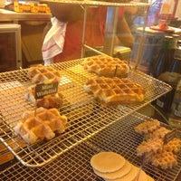 Photo taken at Wafels & Dinges Cafe by Krystyna on 7/28/2013