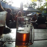 Photo taken at Bohemian Hall & Beer Garden by Tony X. on 10/20/2012