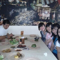 Photo taken at Warung Nasi Ampera by Meity E. on 11/24/2012