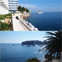 Photo taken at Excelsior Hotel Dubrovnik by Nammi Anna K. on 11/7/2012