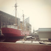 Photo taken at Historic Ships in Baltimore by Kristen M. on 6/10/2014