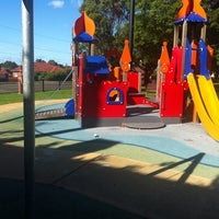 Photo taken at Jubilee Park Playground by Ben S. on 3/16/2013