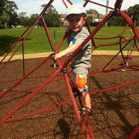 Photo taken at Jubilee Park Playground by Ben S. on 3/10/2013