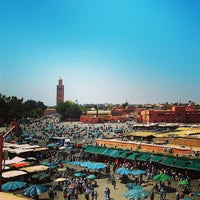 Photo taken at Place Jemaa el-Fna by Khaoula E. on 4/16/2013