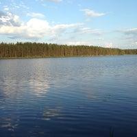 Photo taken at Ольховское озеро by Julie D. on 6/8/2013