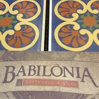Foto tirada no(a) Babilônia Gastronomia por Wesley Y. em 11/2/2013