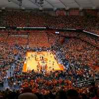 Photo taken at Carrier Dome by Tim S. on 2/23/2013