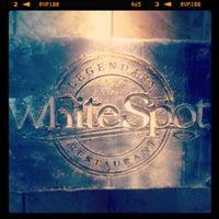 Photo taken at White Spot Granville & Drake by Brian W. on 6/1/2013