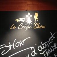Photo taken at Le Crêpe Show by Fabiola N. on 4/21/2013