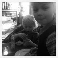 Photo taken at Levinskys Burger by per henrik h. on 3/22/2013