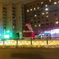 Снимок сделан в Площадь Мужества пользователем S. S. 12/7/2012