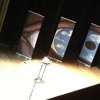 Photo taken at Teatro Ristori by barbara a. on 3/17/2013