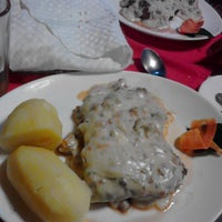 "Photo taken at Restaurant ""Donde el Gordito"" by Christian M. on 2/2/2015"