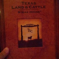 Photo taken at Texas Land & Cattle Steak House by Kristopher B. on 5/21/2013