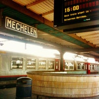 Photo taken at Station Mechelen by Andrea G. on 4/1/2013