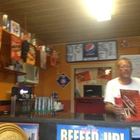 Photo taken at Seaside Dawgs And Beef by Mike S. on 8/6/2013