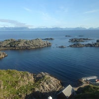 Photo taken at Litløy Fyr Littleisland Lighthouse by Chris V. on 7/23/2013
