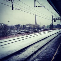 Photo taken at Station Gent-Dampoort by Matthias S. on 1/15/2013