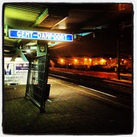 Photo taken at Station Gent-Dampoort by Matthias S. on 2/18/2013