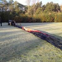 Photo taken at Up Ballooning Opstijgplaats by Matthias S. on 10/28/2012