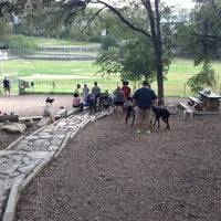 Photo taken at West Austin Park by caitlin c. on 10/21/2012