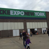 Photo taken at Bike Expo New York- Pier 36 by Nick F. on 5/1/2015