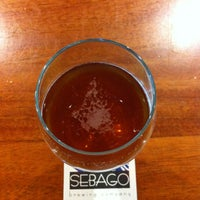 Photo taken at Sebago Brewing Company by Adam B. on 9/23/2013