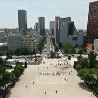 Foto tomada en Mirador Monumento a la Revolución Mexicana por Joryx J. el 6/19/2013