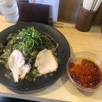 Photo taken at つけ麺本舗 辛部 五日市店 by pilo 7. on 4/30/2018