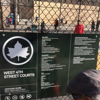Photo taken at West 4th Street Courts (The Cage) by Bo on 3/8/2017