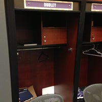 Photo taken at Phoenix Suns Locker Room by Warren O. on 11/7/2012