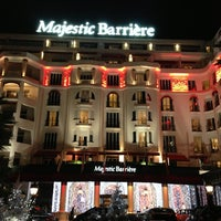 Foto tomada en Majestic Barrière Cannes por Кристина Л. el 1/1/2013