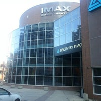 Photo taken at IMAX Dome Theater at Discovery Place by Jaime M. on 12/27/2012