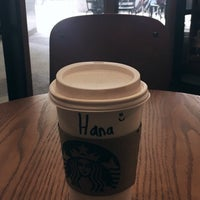 Photo taken at Starbucks by Hana on 2/24/2017
