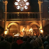 Photo taken at Union Chapel by Graham W. on 5/9/2013