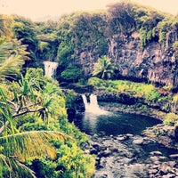 Photo taken at 7 Sacred Pools @ Haleakala State Park by Martin E. on 10/13/2012