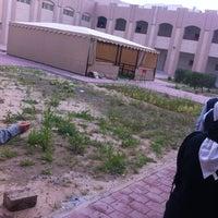 Photo taken at Nouriah AlSubeih High School by Fajer A. on 2/11/2013